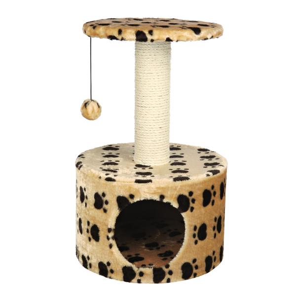 Toreador Paw Print Cat Condo Tree