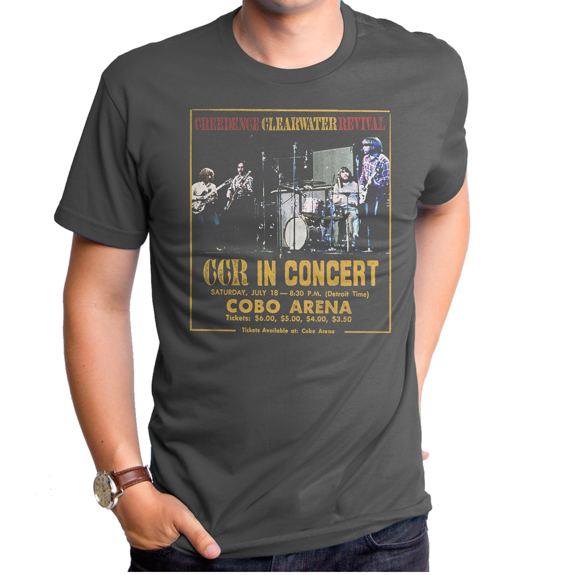 Creedence Clearwater Revival Concert Men's T-Shirt