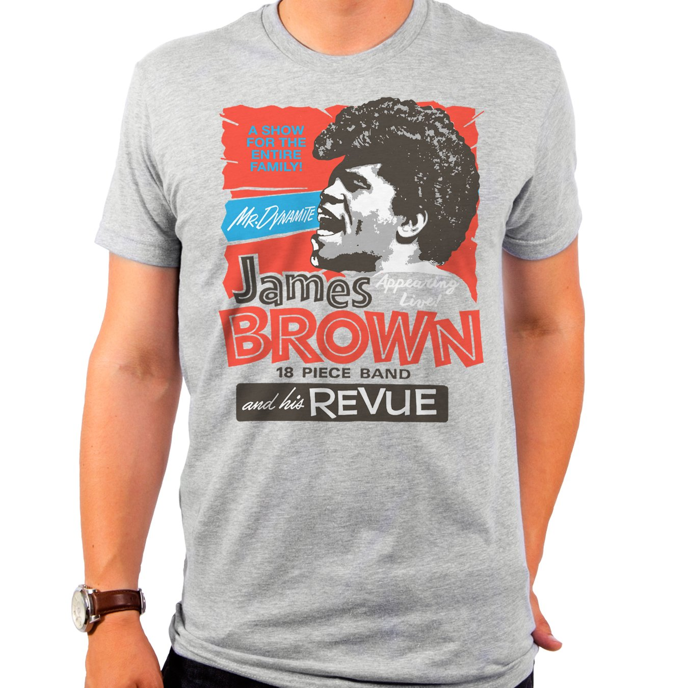 James Brown And His Revue Men's T-Shirt