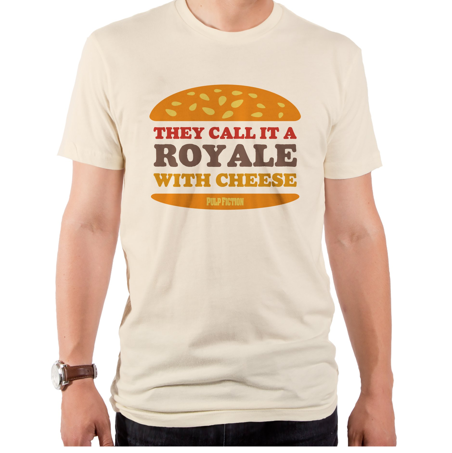 Pulp Fiction Royale With Cheese Men's T-Shirt