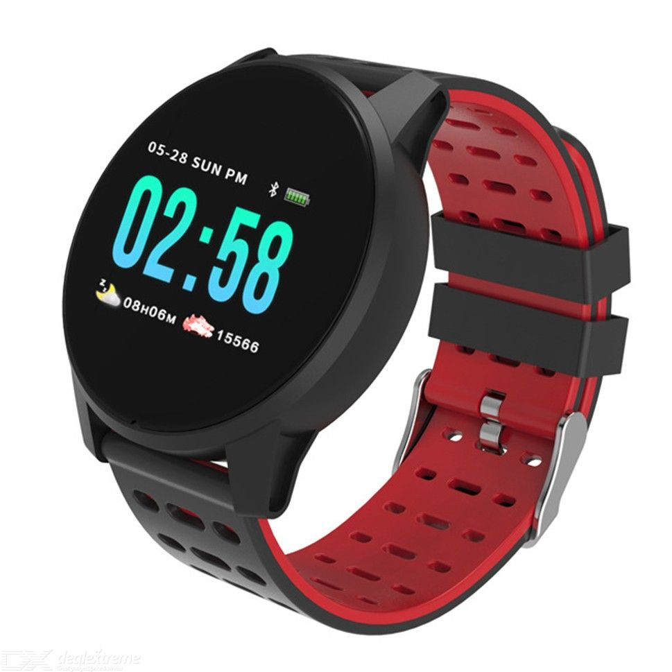 KY108 Smart Watch Fitness Tracker With Sports Modes Heart Rate Sleeping Monitor Message Reminder