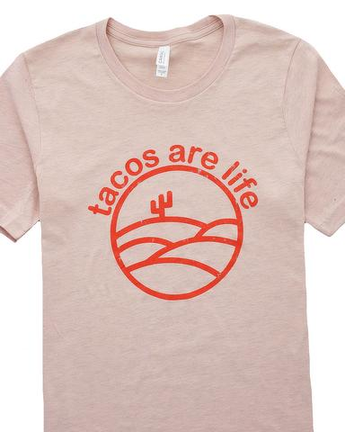 Tacos Are Life Graphic T-Shirt / S-3XL