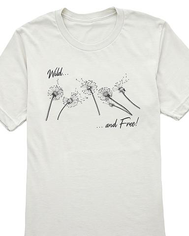 Wild and Free Graphic T-Shirt / S-3XL