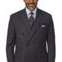 Charcoal and Glen Plaid Suits
